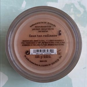 Bare Minerals Faux Tan Radiance Bronzer blush
